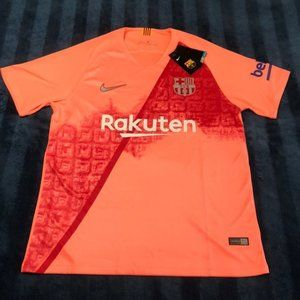 Nike FC Barcelona #10 MESSI Soccer Jersey